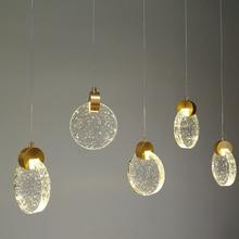 Round Crystal Pendant Lights…
