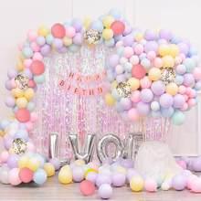 209pcs Pastel Balloon Garland Kit Rainbow Macaron Balloons Arch Kit for Birthday Party Wedding Decor Baby Shower Decorations