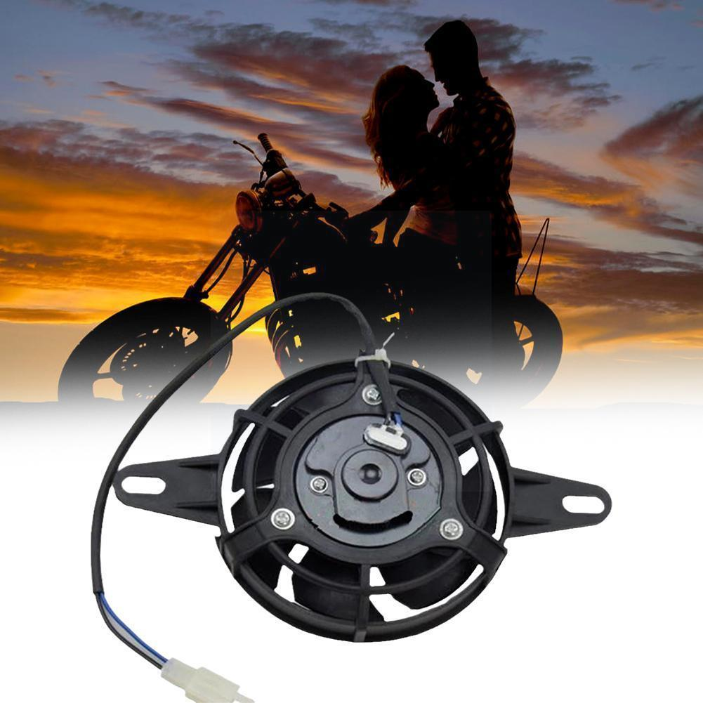 200cc250cc ATV Go Kart Motorcycle Modified New Electric Radiator Fan New Motorcycle Cooling Oil Cooler For Off-road Water C F6X0