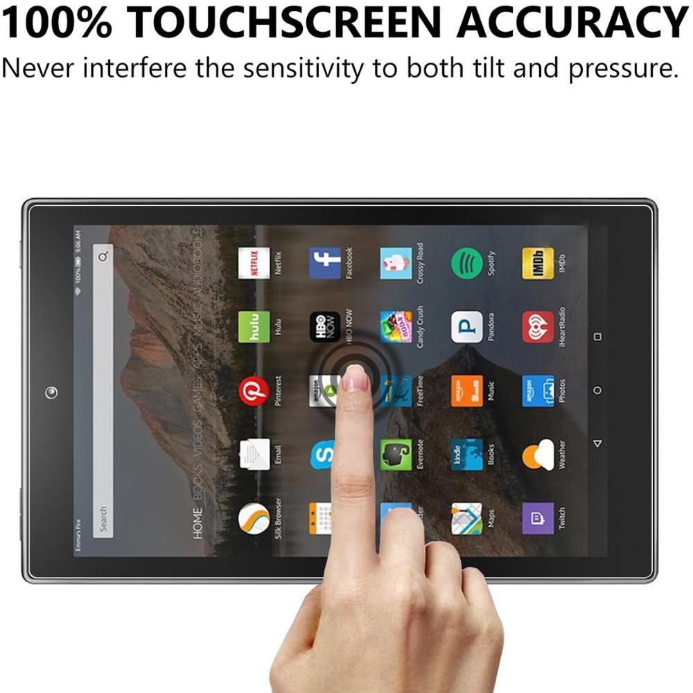 for Amazon Fire HD 10 2019 Screen Protector, Anti-Scratch Tempered Glass Film for Amazon Fire HD 10 2019 (10.1