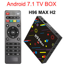 H96 Max H2 Android 7.1 TV Box RK3328 4GB 32GB Set Top Box Suppot H.265 2.4G/ 5G Wifi BT4.0 4K Smart Tivi H96Max H2 Truyền Thông Thông Chơi(China)