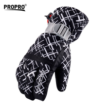 Outdoor Sports Waterproof Ski Gloves Warm Winter Snowboard Gloves Touch Screen Ciclismo Inverno Winter Sports Accessories EF50ST