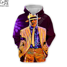 PLstar Cosmos Pop King Michael Jackson casual colorful 3DPrint Hoodie/Sweatshirt/Jacket/shirts Mens Womens hip hop Spacewalk s-3