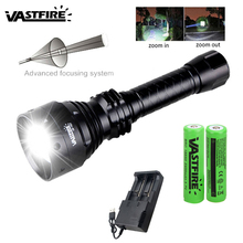Flashlight XRE Coyote Torch White Tactical Green Hog Red T67 500-Yards 67mm-Lens Predator