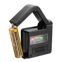 Mayitr 1 шт. Портативный ручной дизайн для проверки аккумуляторной батареи Универсальная Кнопка тестер вольт батареи для AA/AAA/C/D/18650/9 В/1,5 в размеров