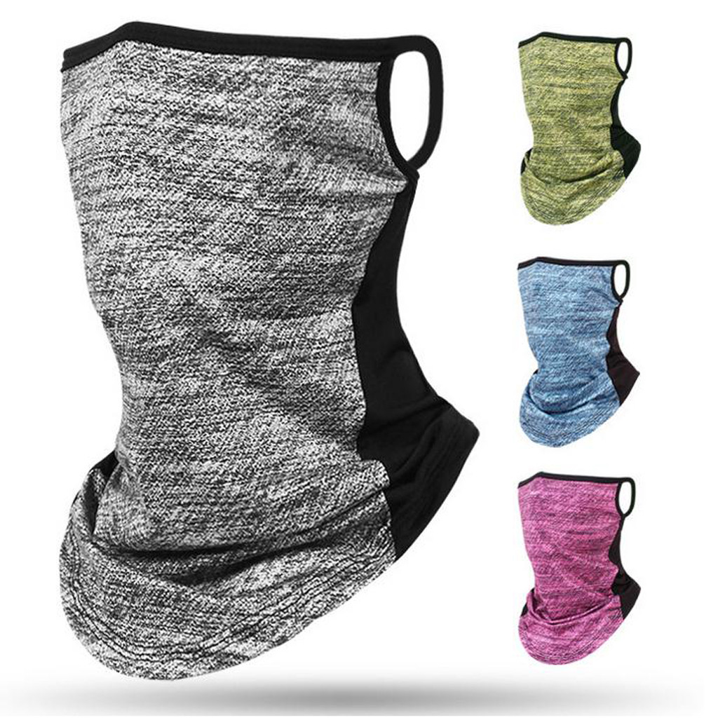 Men Women Neck Gaiter Face Mask For Outdoor Hiking Cycling Running Motorcycle