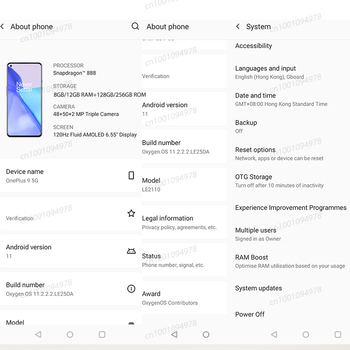 Global Rom OnePlus 9 5G Snapdragon 888 8GB 128GB Smartphone 6.5'' 120Hz Fluid AMOLED Hasselblad Camera OnePlus Official Store 2
