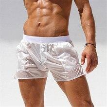 Summer Board shorts men casual solid Swimwear Quick Dry Beac