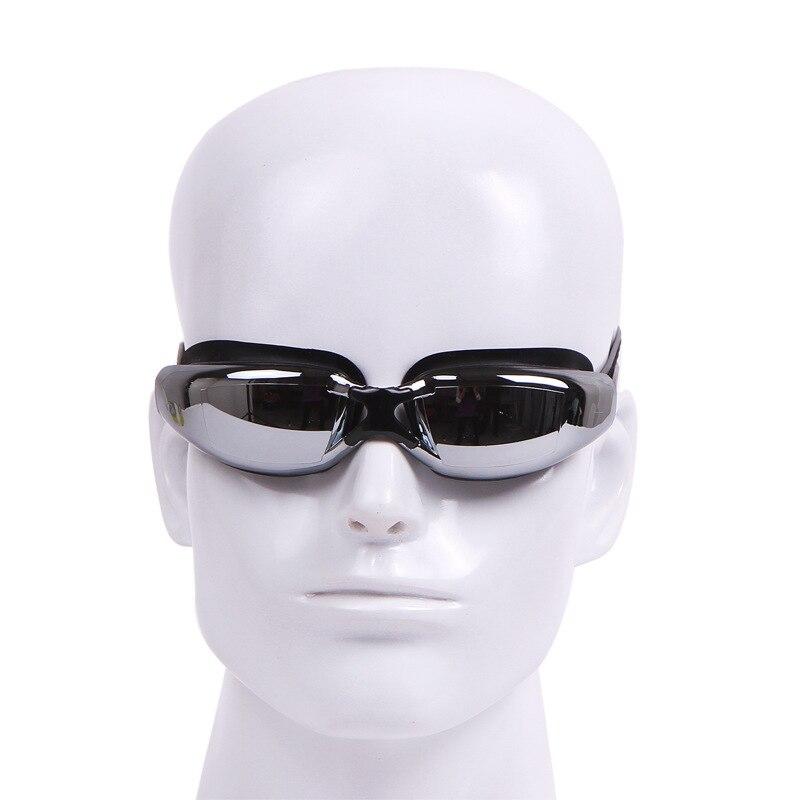 Goggles Women's Glasses High-definition Waterproof Anti-fog Myopia Big Box Plain Glass Alcohol By Volume Men Swimming Children E
