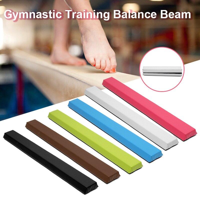 Adult Folding Balance Beam Women Balance Beam Cushion 122X10X6cm Children's Gymnastics Gym Training Equipment For Somersault