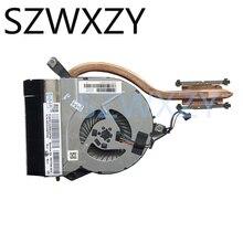 Оригинальный охладитель SZWXZY для ноутбука HP 14-P 15-P 17-P 15-K 14-V, вентилятор радиатора 767776-001 767706-001, 100% рабочий