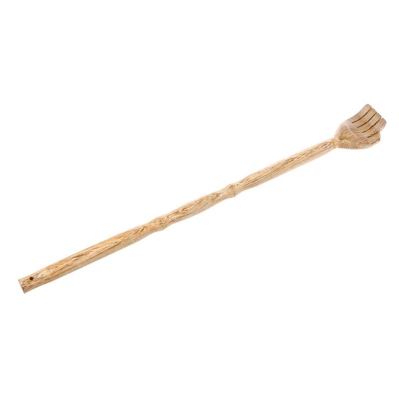 Wooden Back Scratcher Wood Back Scraper Scratching Massager Body Massage Hackle Itch Stick Health Product