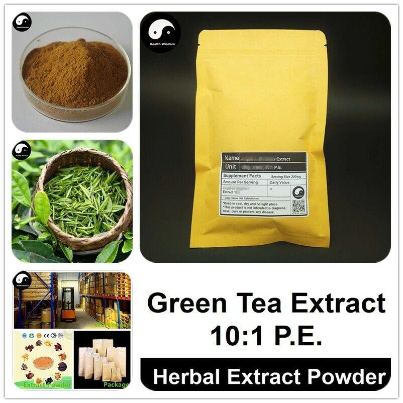 Green Tea Extract Powder 10:1, Camellia Sinensis P.E., Polyphenol