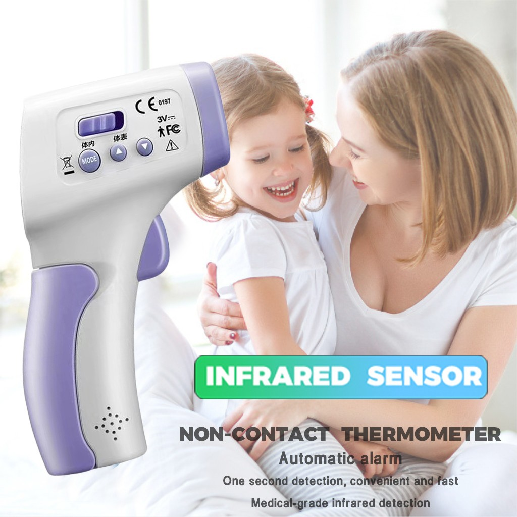 Baby Medical Digital LCD Adult Underarm Oral Body Fever Alarm Thermometer D*