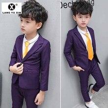 Children's Suit Wedding Birthday Party Dress Suit JaCket + P