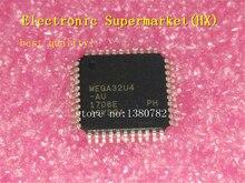 100% ใหม่ original 10 ชิ้น/ล็อต ATMEGA32U4 AU ATMEGA32U4 TQFP 44 IC สต็อก!