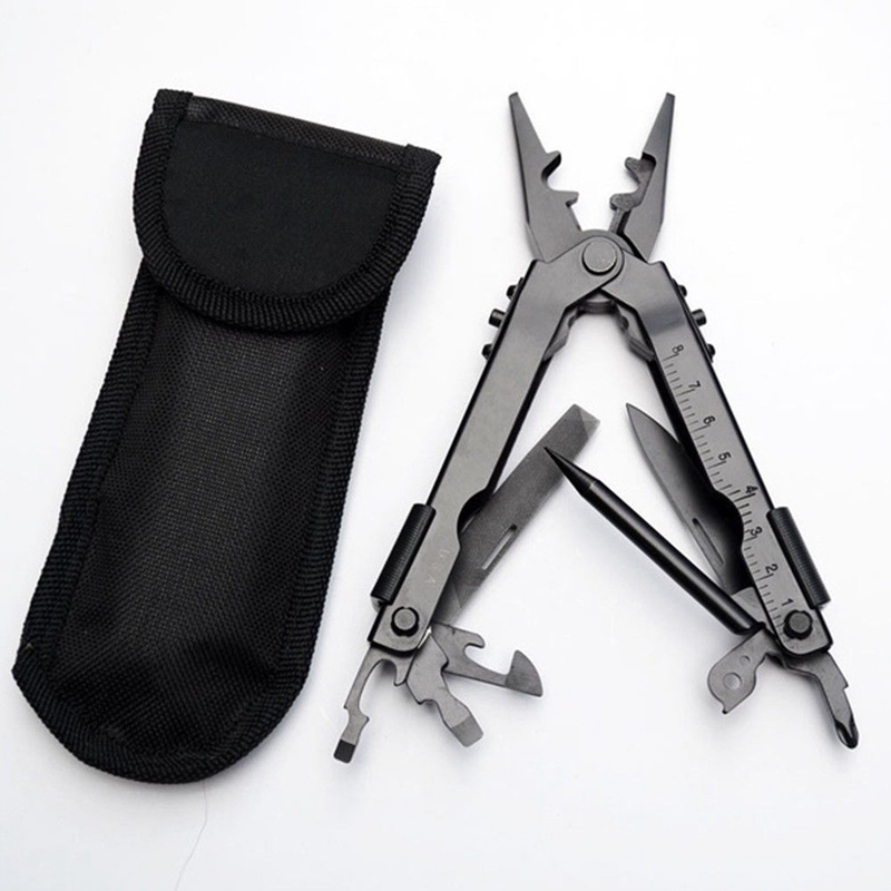 TOP 13 In1 Outdoor Survival Forceps Combined Stainless Steel Multi Tool Plier Portable Outdoor Camping Emergency Equipment in Outdoor Stoves from Sports Entertainment
