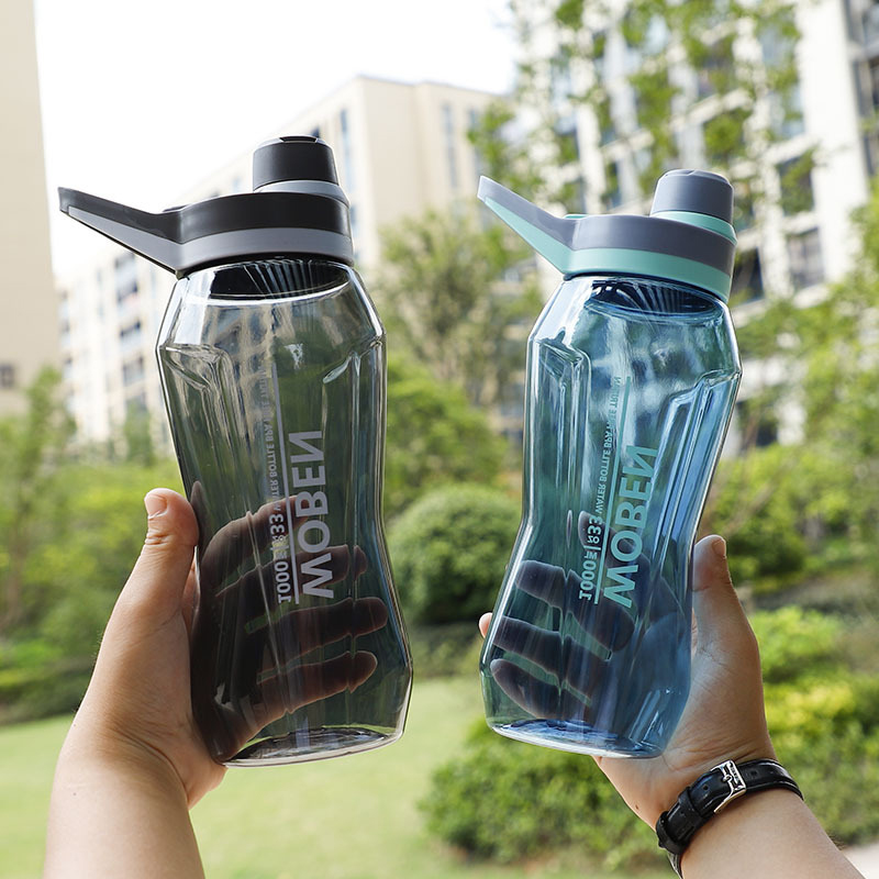 1L 1.5L Sport Water Bottle Adult Portable LeakProof My Drink Bottles BPA free Cycling Travel Camping Hiking Plastic Water Bottle