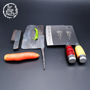 Image 2 - SHUOJI Top Quality Slicing Knife Chinese Handmade Kitchen Chef Knife Razor Sharp Easy cut Meat Fish Vegetable Non slip Handle