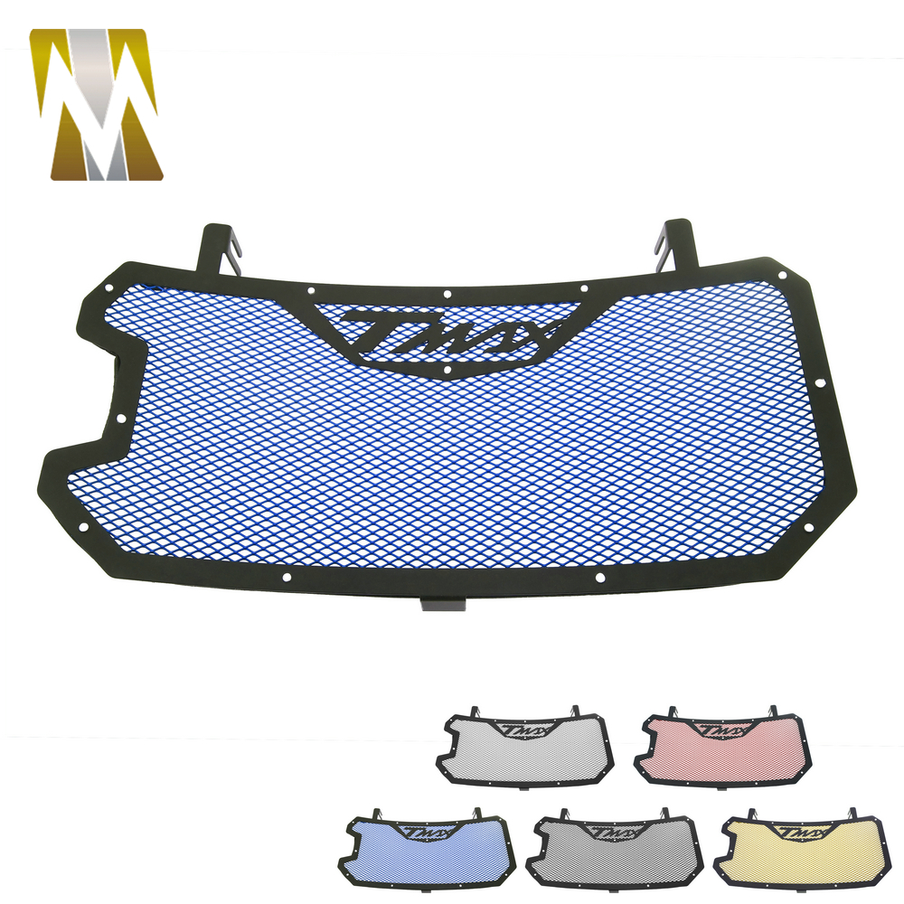 For Yamaha TMAX <font><b>530</b></font> Motorcycle Accessories Parts TMAX530 Radiator Grille Coolant Tank Protector <font><b>T</b></font>-<font><b>MAX</b></font> <font><b>530</b></font> <font><b>2017</b></font> 2018 For Yamaha image