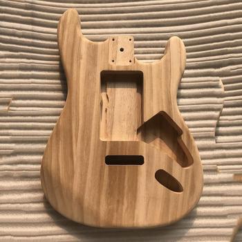 цена на New Wood type electric guitar accessories ST electric guitar barrel material maple guitar barrel body