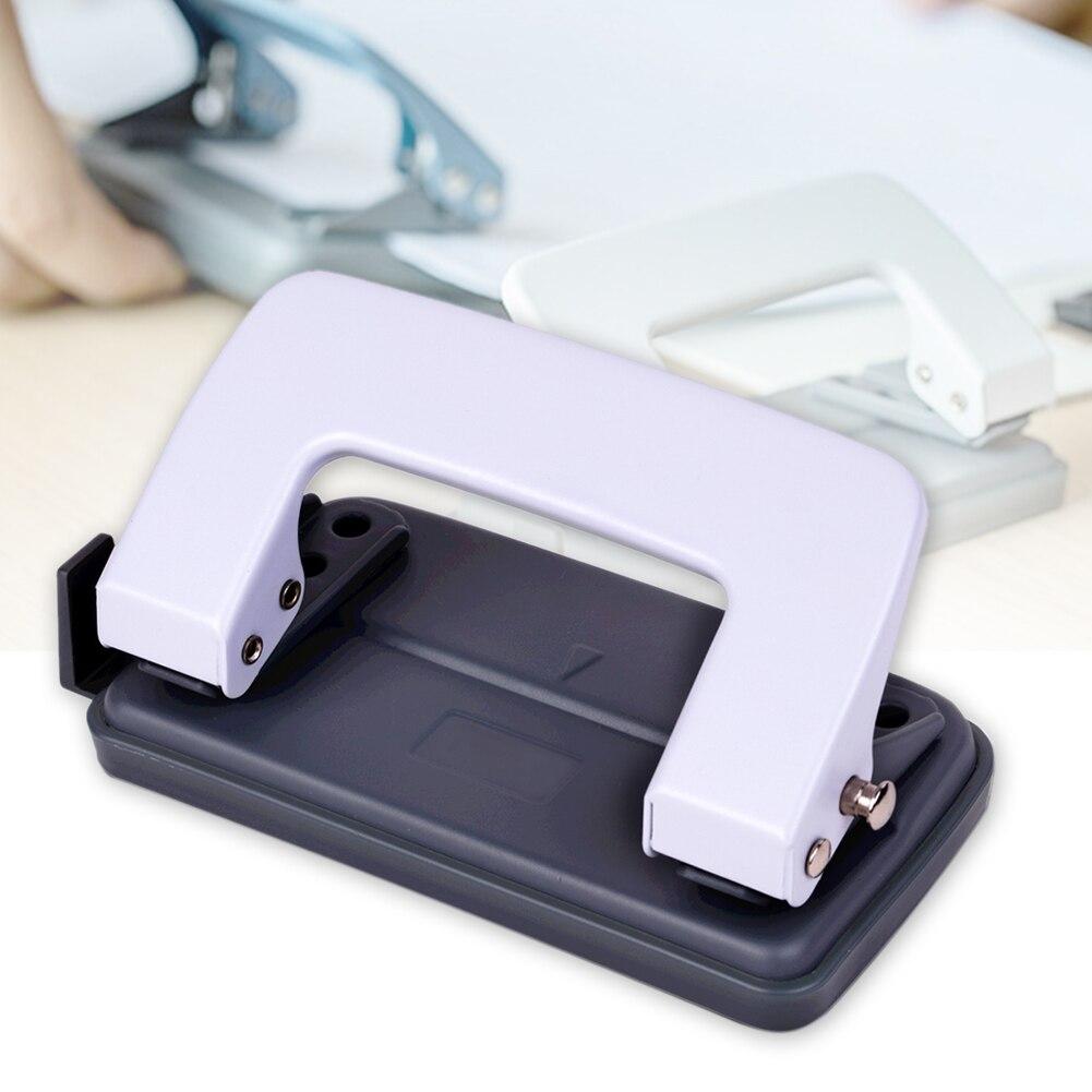 Офисное DIY ремесло средство для планирования 2 отверстия ручные школьные канцелярские кольца скоросшиватель металла бумаги портативный