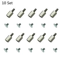 Hand Tool Mounting Kits Stand Off Screw Hex Nut For MSI PC Laptop M.2 SSD Motherboard 10 Set(China)