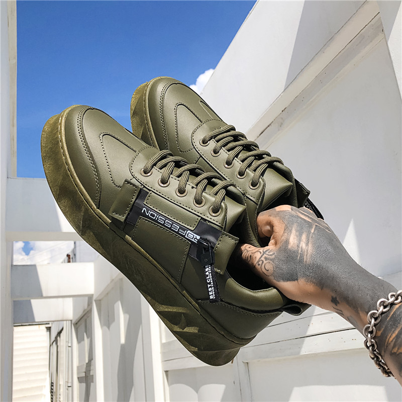 Image 2 - BIGFIRSE 男性カジュアルシューズゾルフ通気性の快適な男のファッションスニーカーローファー新 Zapatillas  Hombre 2019 男性ファッション靴    グループ上の 靴 からの メンズカジュアルシューズ  の中
