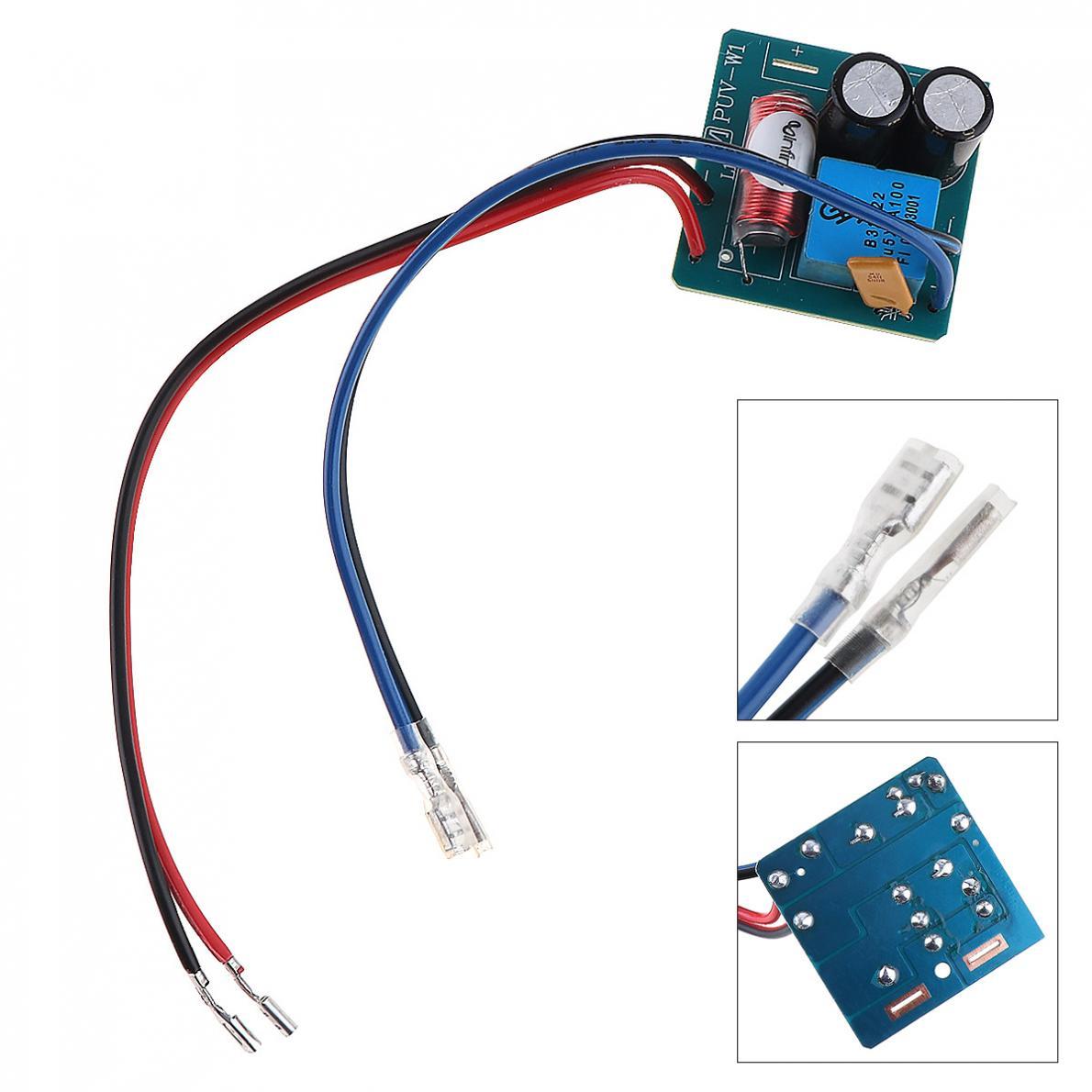 PUV-W1 60W 12V Lautsprecher Audio Frequenz Teiler Lautsprecher 2 Einheit Crossover Filter für Lautsprecher