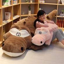 Cute Cartoon Crocodile Toy Soft Plush Toy Stuffed Animal Crocodile Doll Plush Pillow Cushion Girls Birthday Gift