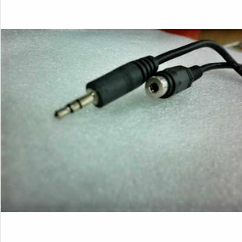 1M Jack 3.5 Mm przedłużacz Audio kabel do Huawei P30 Pro Stereo Jack 3.5mm przewód AUX do słuchawek Xiaomi Redmi Note 7 Pro PC