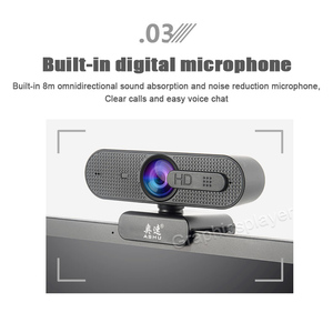 Image 3 - 1080P Webcam HD Camera with Built in HD Microphone 1920 x 1080p USB  Video