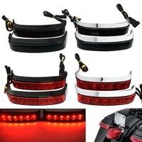 Motorcycle LED Saddlebag Run Brake Turn Lamp Light For Harley Road Glide Electra Glide Street Glide CVO 2014 2019