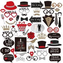 Sr. Mrs-accesorios para fotos de recién casados, gafas divertidas, decoración de boda, cabina de fotos para cumpleaños, accesorios para fiesta de graduación, Máscara