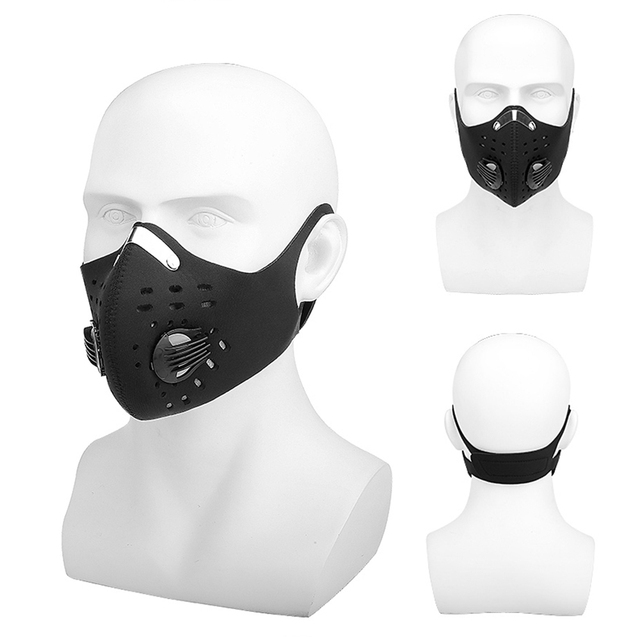 2020 Sports Mask Mouth Masks Sport Cycling Face Mask Pollution Filters PM2.5 Mascarillas Dust Mascherine Mascaras Mascarilla 1