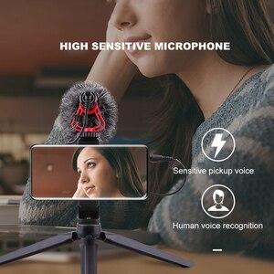 Image 3 - LATZZ LZ A2 מקצועי קיבול מיקרופון וידאו הקלטת הקבל מיקרופון 3.5mm עבור SLR מצלמות מצלמות וידאו Smartphone