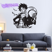 Luffy ONE PIECE Wall Decal Vinyl Wall Stickers Decal Decor Home Decorative Decoration Anime ONE PIECE Car Sticker vinyl wall stickers formula one racing sports car enthusiasts youth room shool dormitory home decoration wall decal 2ce15