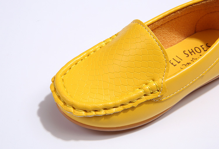 H4b01bbc02c1c4bbdb2943d023b524f4cE - SKOEX Boys Girls Shoes Slip-on Loafers Oxford PU Leather Flats Soft Kids Baby First Walkers Mocassins Children Toddler Sneakers