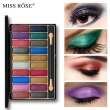 Profesjonalny pres20 kolory makijaż brokat cień do powiek Shimmer matowy cień do powiek w proszku makijaż paleta Maquillage Eye Showdow Palet