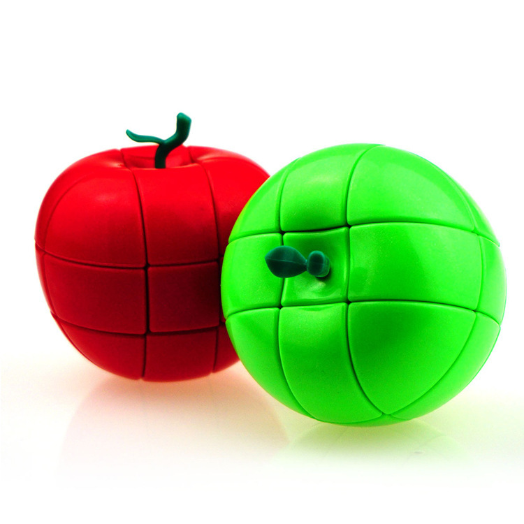 [Yongjun Apple Rubik's Cube] Three Layer Special Shape Christmas Eve Fruit Rubik's Cube YJ0326 Christmas Eve Fruit Gift