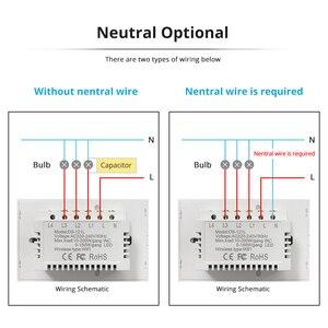Image 5 - Zemismart NOUS Tuya Commutateur de Lumière WiFi Neutre OptionalWire 1 2 3 Gangs Alexa Google Home Assistant Vie Intelligente Contrôle 220v 240V