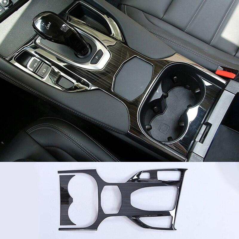 Lsrtw2017 para haval F7 F7X painel engrenagem copo quadro decoração trims acessórios do carro Interior Molduras cromo 2020 2019 2018