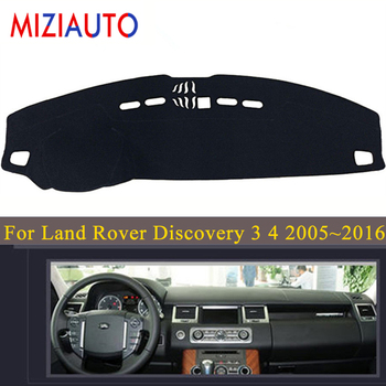 цена на Dashboard Cover For Land Rover Discovery 3 4 2005~2016 LR3 LR4 L319 2006 2007 Dashmat Mat Sun Shade Cover Carpet Car Accessories