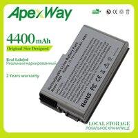 Apexway 11.1V 6Cell Batterij Voor Dell Latitude D500 D505 D510 D520 D530 D600 D610 Voor Precisie M20 C1295 m9014 U1544 W1605 Y1338