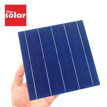 50 sztuk Panel słoneczny 5V 6V 12V Mini układ słoneczny DIY do ładowania akumulator przenośny 125 156 ogniwo słoneczne 0.37W 0.54W 0.66W 1.05W