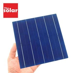 Image 1 - 50PCS Solar Panel 5V 6V 12V Mini Solar System DIY Für Batterie Zelle Ladegeräte Tragbare 125 156 Solarzelle 0,37 W 0,54 W 0,66 W 1,05 W