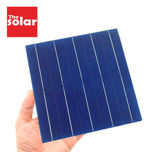 50PCS Solar Panel 5V 6V 12V Mini Solar System DIY For Battery Cell Chargers Portable 125 156 Solar Cell 0.37W 0.54W 0.66W 1.05W