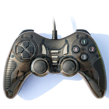 USB Wired Joystick PC Vibration Joypad Game Controller Computer Laptop Cable Control
