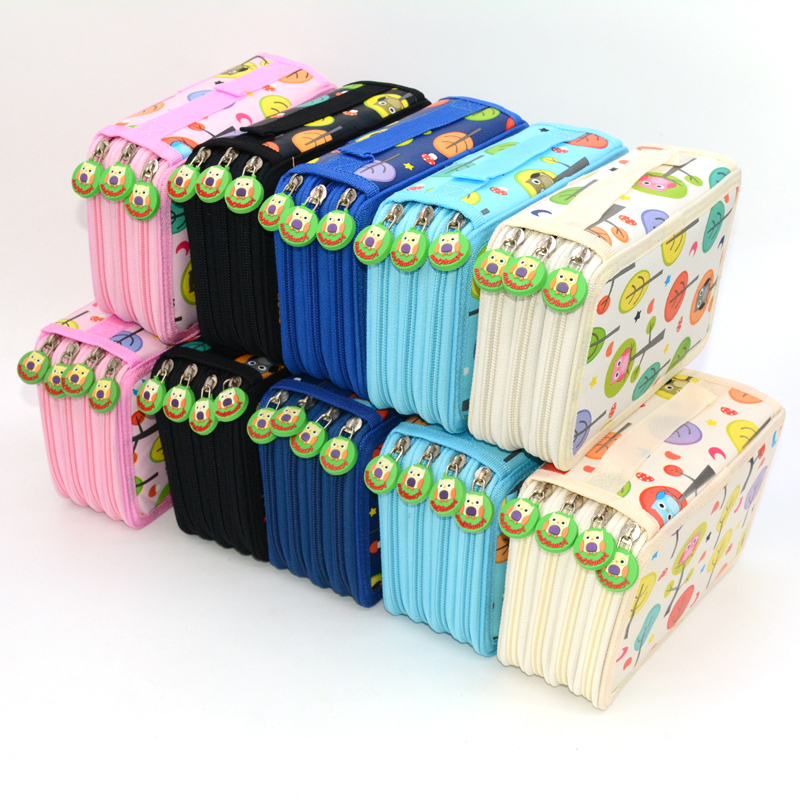 72 Holes Pencil Case Owl Estuche Escolar Kawaii Trousse Scolaire Stylo Piornik Szkolny Estuches Pencilcase Pencil Box School