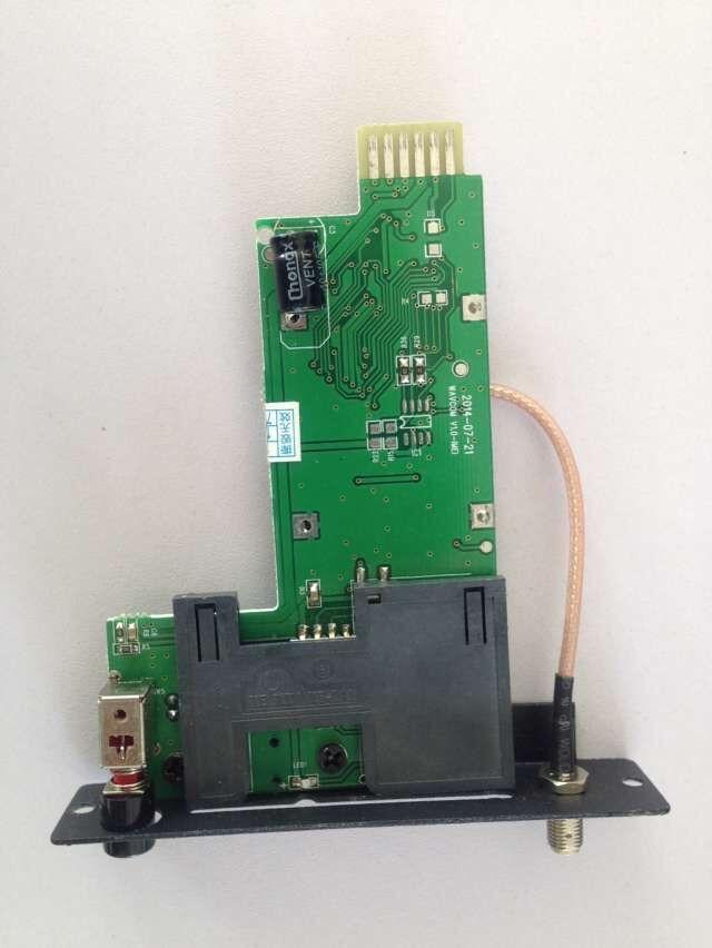 Small PCB board Q2303 modem pool slot